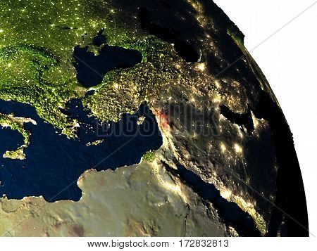 Lebanon From Space