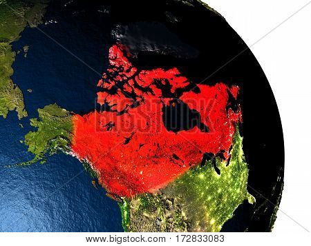 Canada From Space