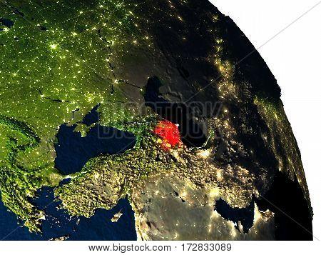 Azerbaijan From Space