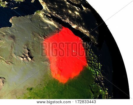 Sudan From Space