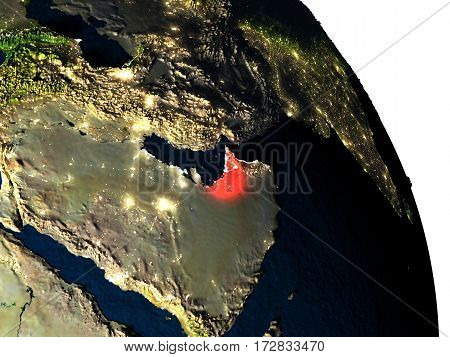 United Arab Emirates From Space