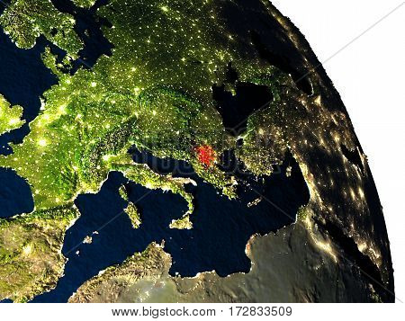 Macedonia From Space