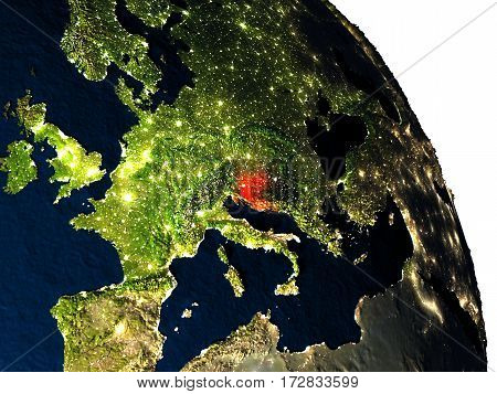 Croatia From Space
