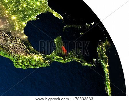 Belize From Space