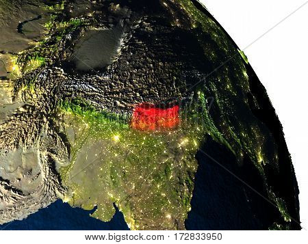 Nepal From Space