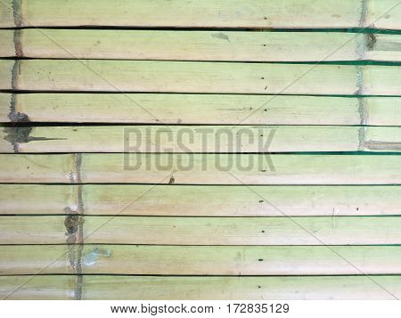 Close up bamboo wood fence texture background
