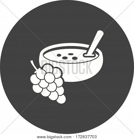 Soup, spanish, food icon vector image. Can also be used for european cuisine. Suitable for mobile apps, web apps and print media.