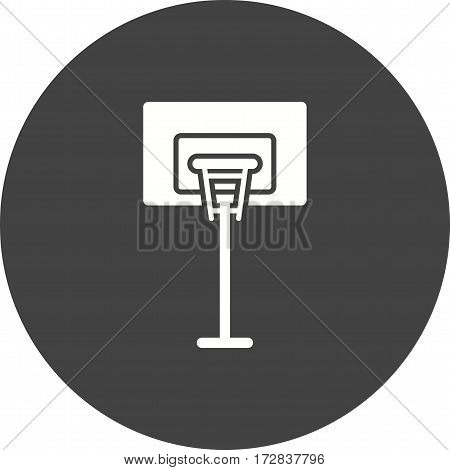 Basketball, court, game icon vector image. Can also be used for town. Suitable for web apps, mobile apps and print media.