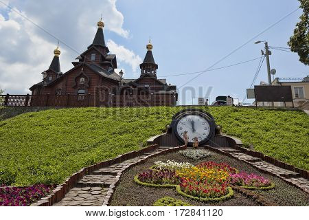 KHARKIV UKRAINE - JULY 6 2014: Church of the Mother of God
