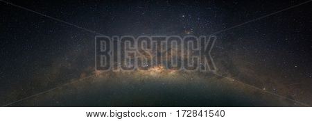 Milky way star and space in night time use for Background