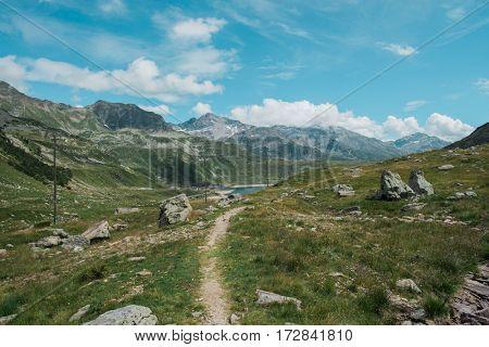 Beautiful alpine landscape