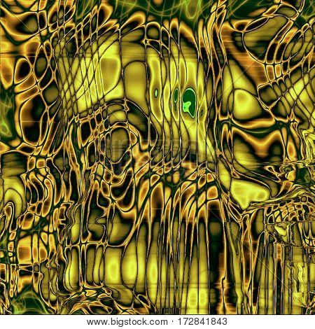 Abstract grunge background of old texture. With different color patterns: yellow (beige); brown; gray; green; black