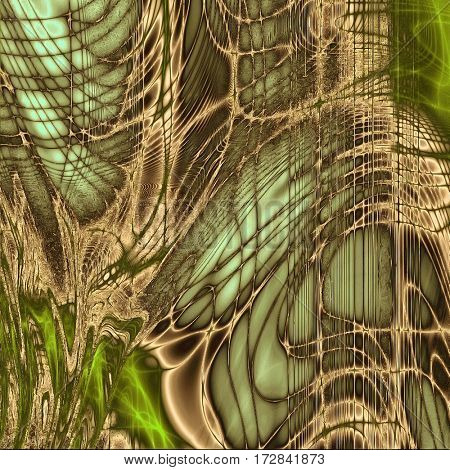 Designed background in grunge style. With different color patterns: yellow (beige); brown; gray; green; cyan