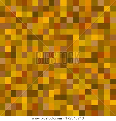 squre pixel in brown tone color background