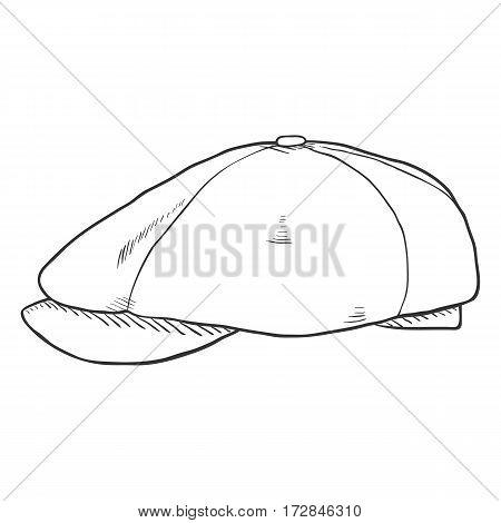Vector Single Sketch Tweed Retro Cap