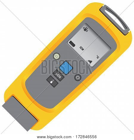 Wireless module with thermocouple thermometer and K-type bead thermocouple