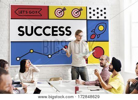 Success Improvement Goals Growth Word