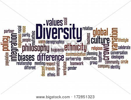 Diversity, Word Cloud Concept 5