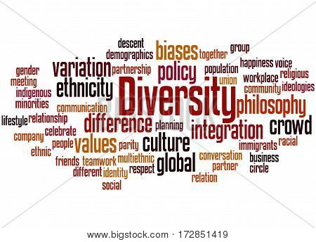 Diversity, Word Cloud Concept 6