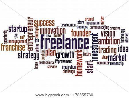 Freelance, Word Cloud Concept 3