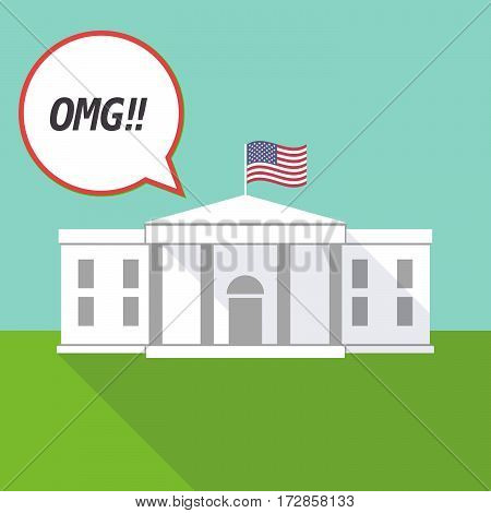 The White House With    The Text Omg!!