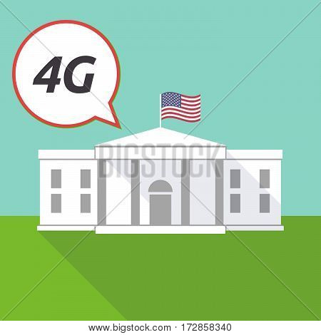 The White House With    The Text 4G