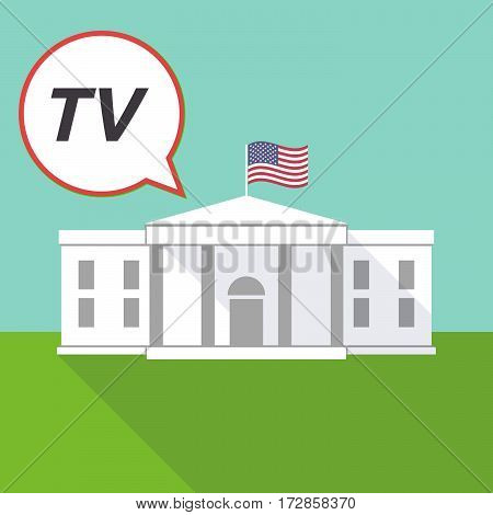 The White House With    The Text Tv