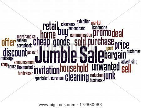 Jumble Sale, Word Cloud Concept 2