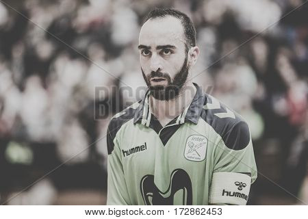 VALENCIA, SPAIN - FEBRUARY 19: Ricardinho during Spanish league match between Levante UD FS and Movistar Inter at Cabanyal Stadium on February 19, 2017 in Valencia, Spain