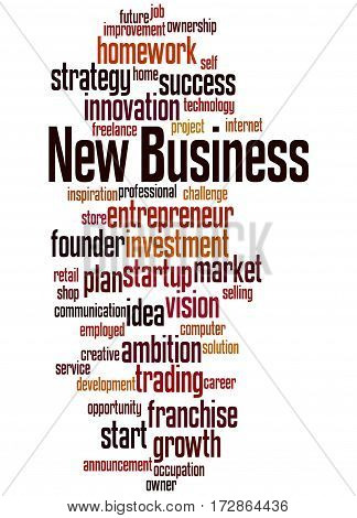 New Business, Word Cloud Concept 3