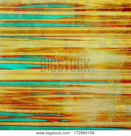 Art graphic texture for grunge abstract background. Aged colorful backdrop with different color patterns: yellow (beige); brown; red (orange); blue
