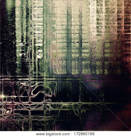 Distressed texture, faded grunge background or backdrop. With different color patterns: yellow (beige); brown; gray; green; purple (violet); black