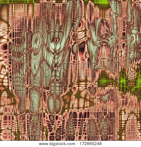 Grunge background or texture with vintage frame design and different color patterns: brown; gray; green; blue; pink