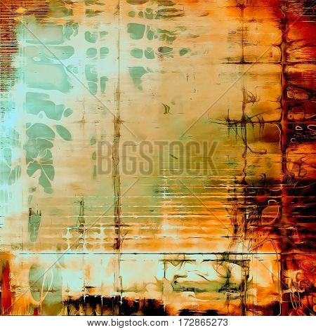 Hi res grunge texture or retro background. With different color patterns: yellow (beige); brown; red (orange); green; blue; cyan