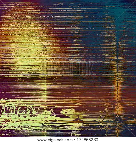Abstract grunge background. With different color patterns: yellow (beige); brown; red (orange); purple (violet); blue