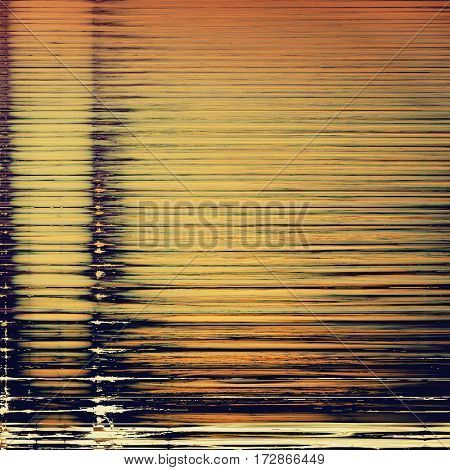 Old vintage backdrop. Original background or aged texture with different color patterns: yellow (beige); brown; red (orange); black