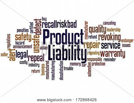 Product Liability, Word Cloud Concept 7