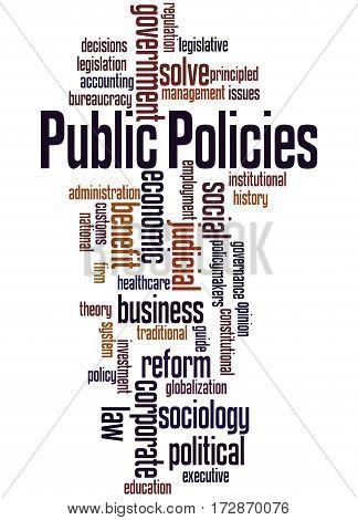 Public Policies, Word Cloud Concept 8