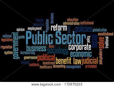 Public Sector, Word Cloud Concept 2