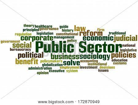 Public Sector, Word Cloud Concept 9