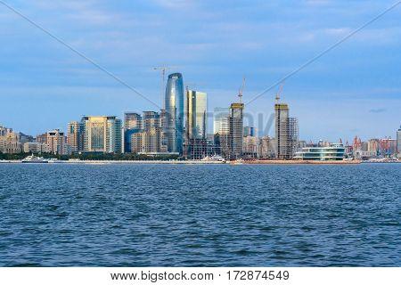 View Of Seaside Of Baku