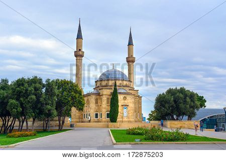 Mosque Of The Martyrs. Baku, Azerbaijan