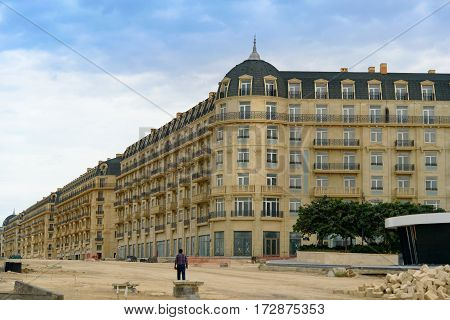 Сonstruction Of Houses In Baku White City