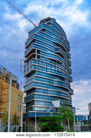 Modern Building In Baku