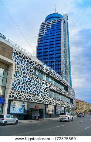 Building Of Multifunctional Complex Azur. Baku