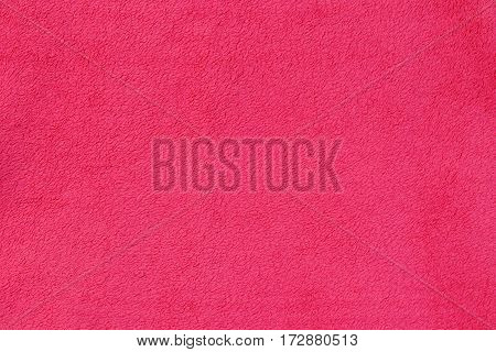 pink texture of a blanket fabric background for your design