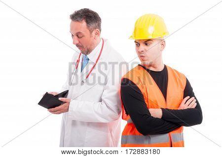 Medic Looking Content Checking Constructors Wallet
