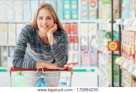 Woman Shopping At The Store