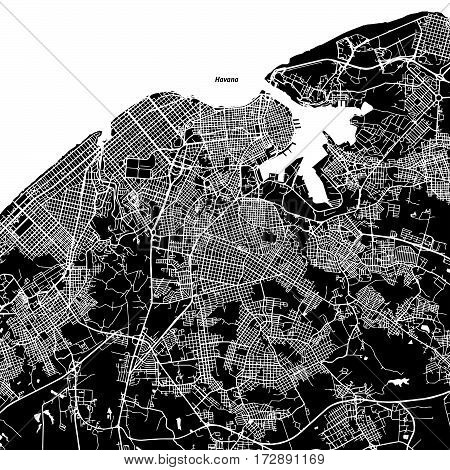 Havana One Color Map