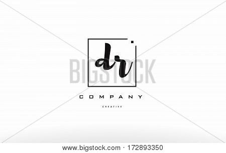 Dr D R Hand Writing Letter Company Logo Icon Design